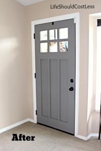 Interior Front Door Re-Do - Life Should Cost Less