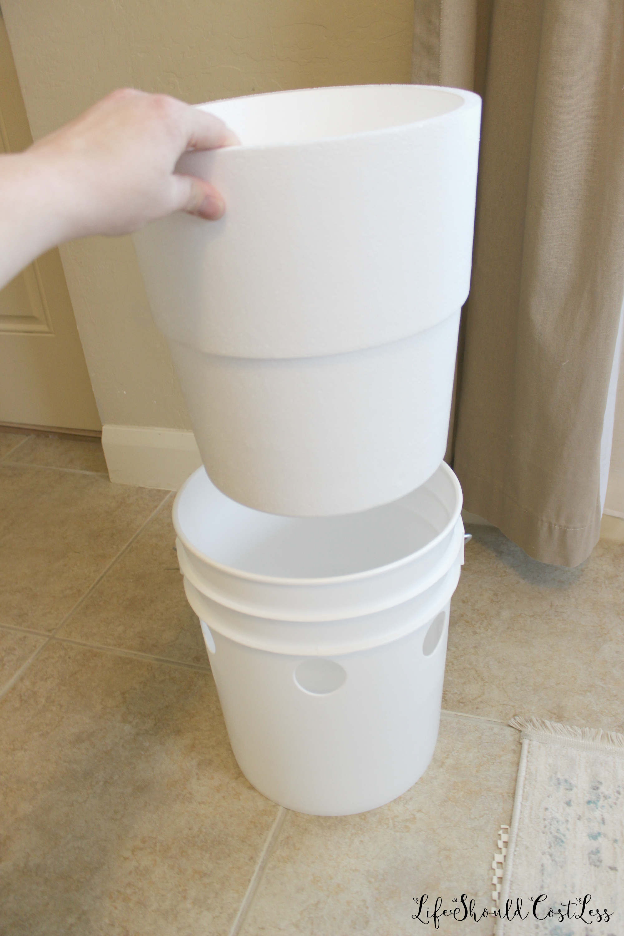 5 Gallon Bucket Home Depot How To Make A Five Gallon Bucket A C Unit With Option To
