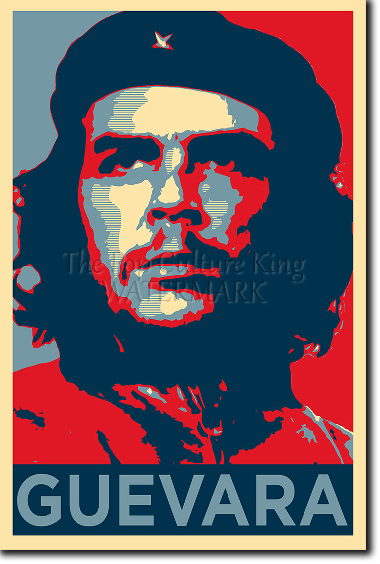 Dragon Ball Z Iphone Wallpaper Che Guevara Art Photo Print Poster Gift Obama Hope Style
