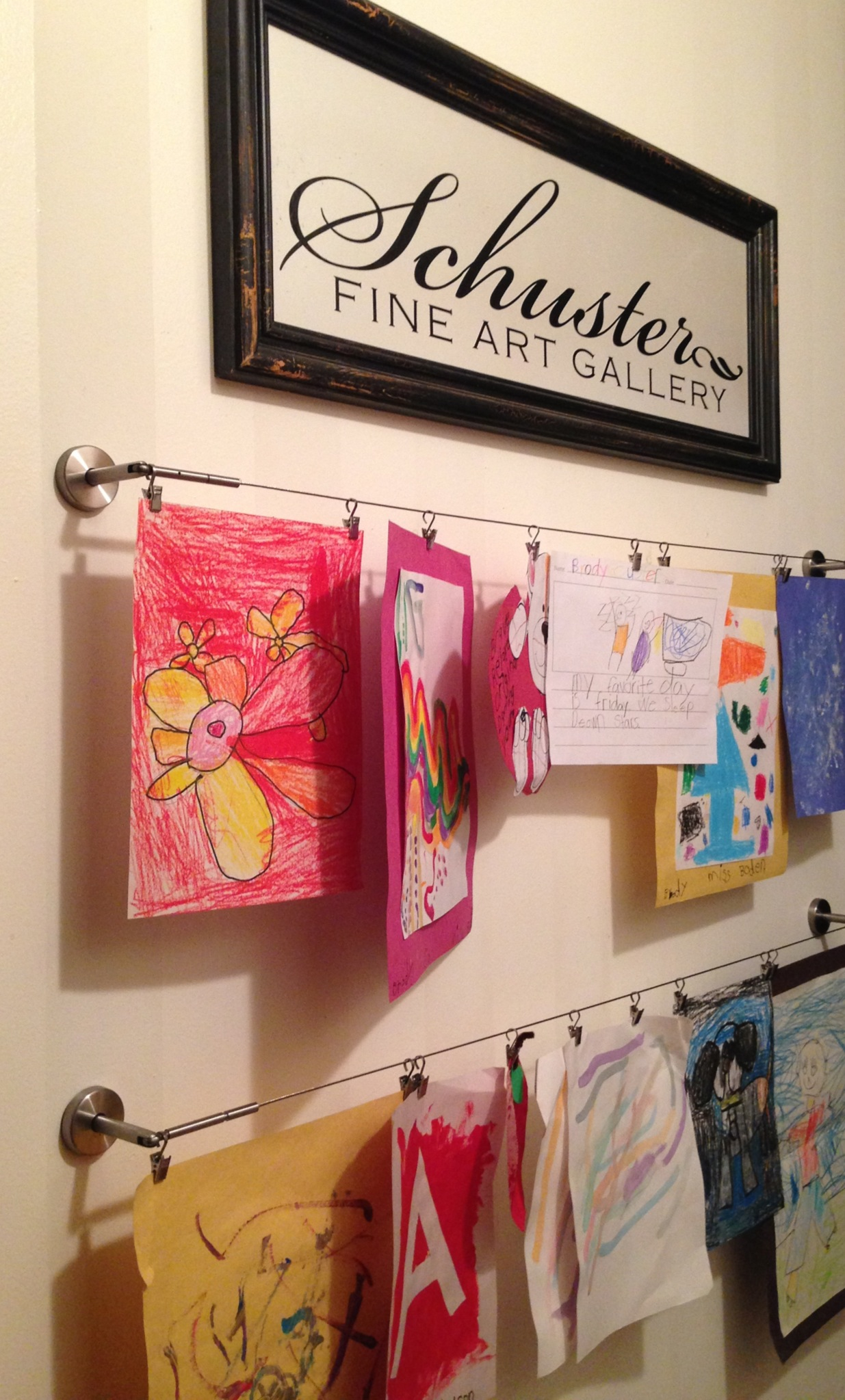 Wall Art Ideas For Teenagers Getting Organized With Kids 5 Diy Projects