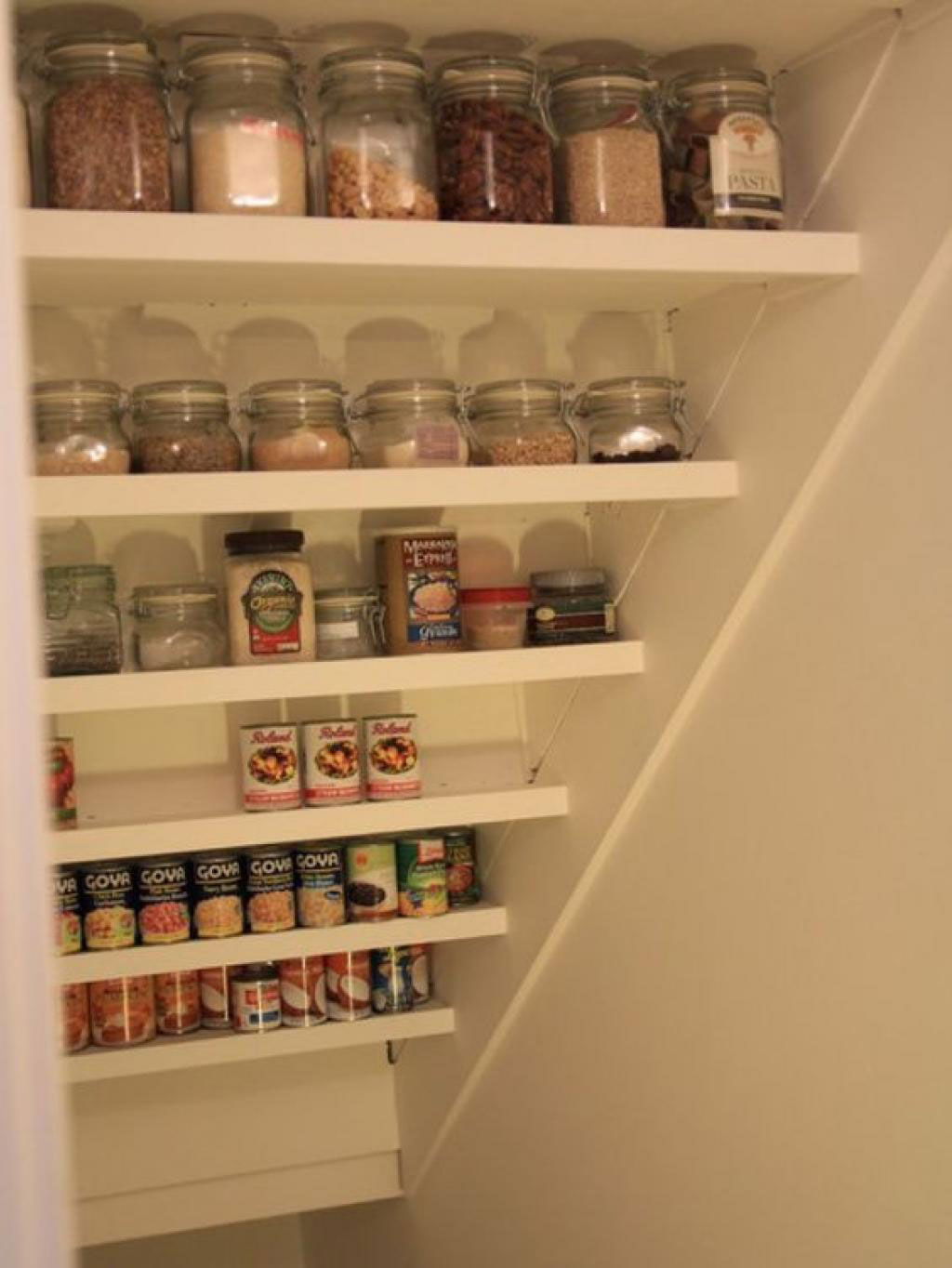 Closet Pantry Under The Stairs Storage How To Make The Most Out Of Every Inch