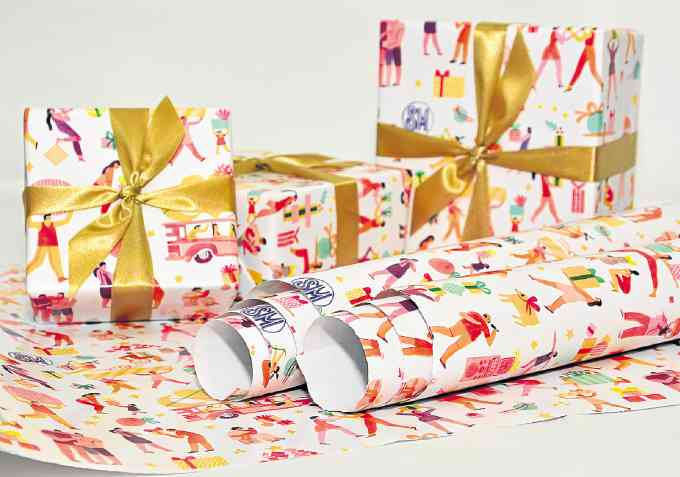 NY artist designs SM gift bags and wrappers Inquirer Lifestyle