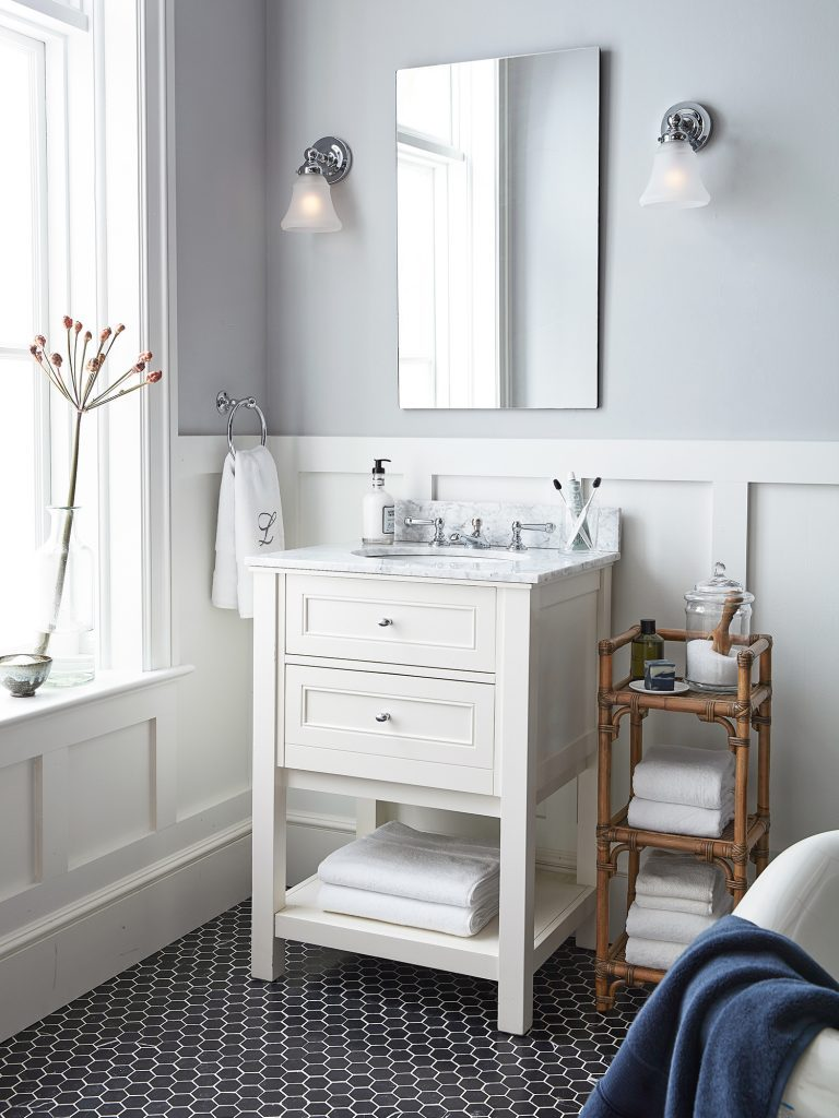 Small Bathroom Try These Clever Design Tricks To Create Space