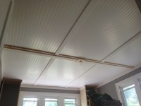 Apartment Therapy Beadboard Ceiling Follow Up | Lifestyle ...