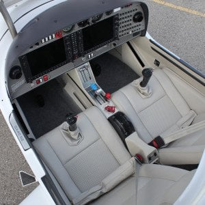 XLT interior from above gray