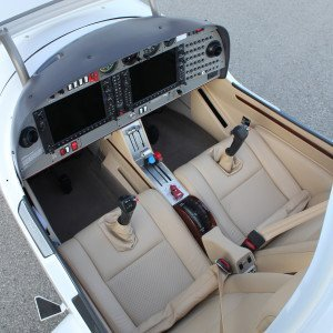 XLT interior from above tan