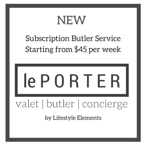 le Porter - Australia's Subscription Butler Service - Adelaide
