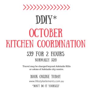 DDIY Kitchen Coordination - Lifestyle Elements Concierge