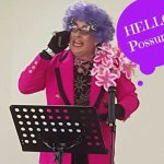 Dame Edna comes to York. Hello from my little corner of the world.