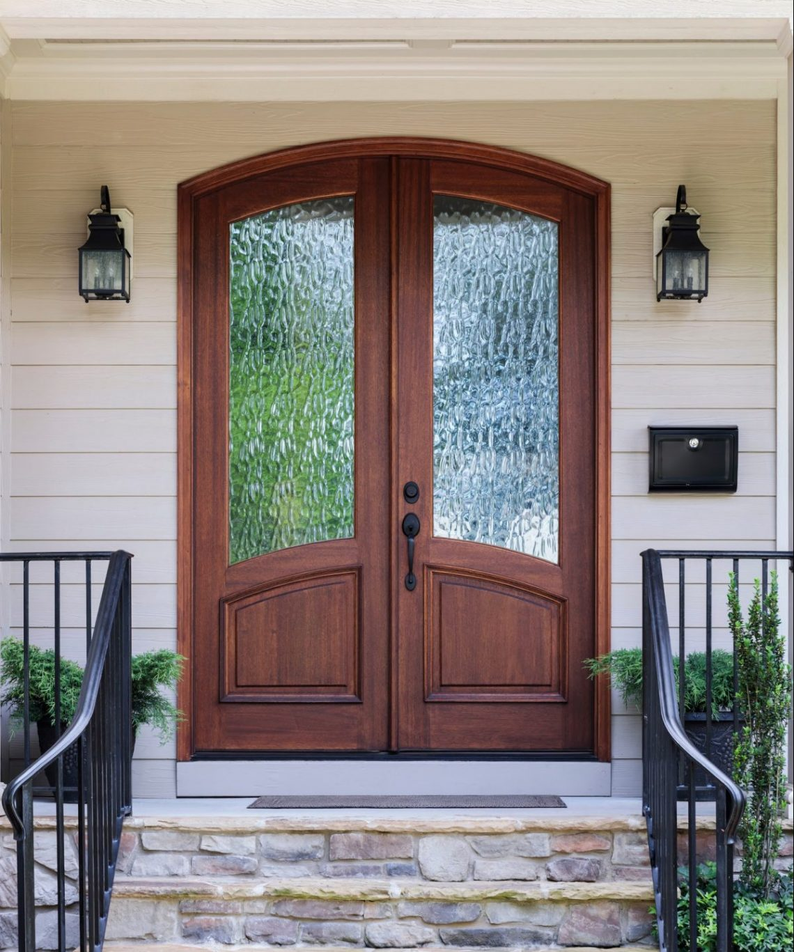 15 Uniquely Charming Exterior Front Doors Lifestyle Home Decor