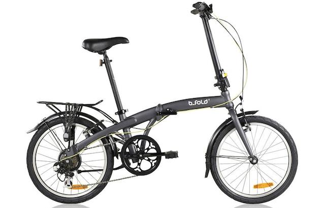 Bici pieghevole B Fold, Decathlon. 244 euro