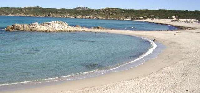 Spiaggia Rena Majori (provincia di Olbia Tempio, costa Nord della Sardegna)