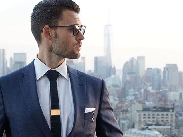 hex tie cravatta
