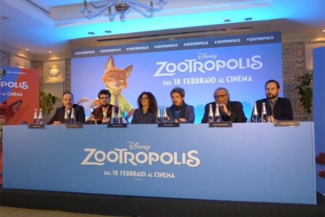 Zootropolis: Massimo Lopez, Frank Matano, Teresa Mannino, Paolo Ruffini, Diego Abatantuono