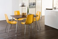 Contemporary colourful kitchen chairs | Lifestyle Mez