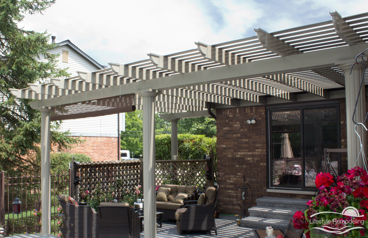 Cover Patio Pergola Pergolas Patio Covers Photo Gallery Lifestyle Remodeling