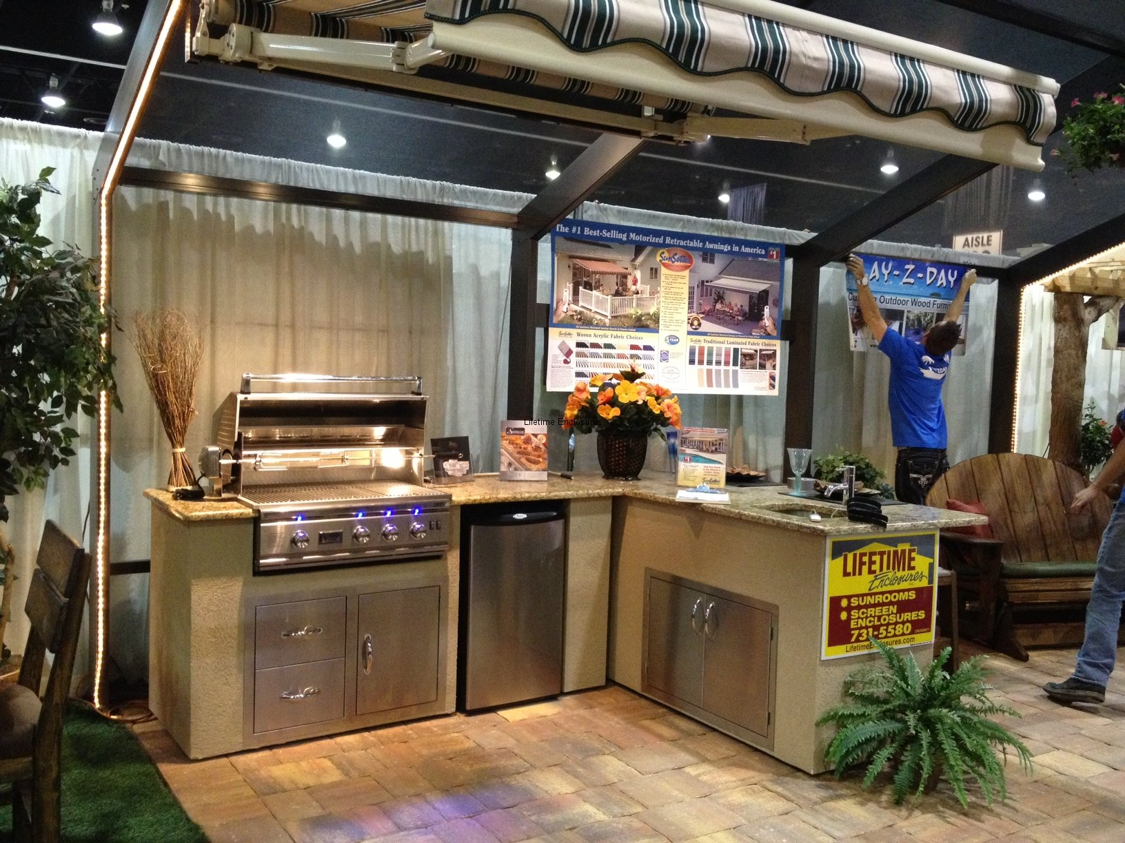 Show Me Kitchen Designs Outdoor Kitchens Lifetime Enclosures