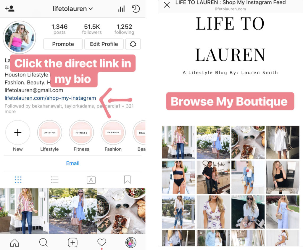 Lifestyle Blog Instagram Instagram Changes How To Shop My Instagram Posts