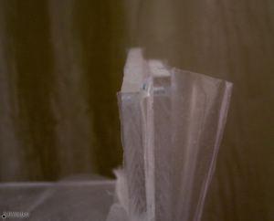 При изготовлении корпуса Гигапана (Gigapan) использовал пластик 5мм