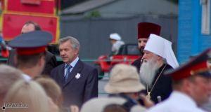 Мэр Бронниц Егоров и православные чины. 02.08.2008