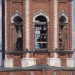 Звонарь на колкольне. Бронницы. 2009
