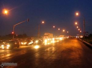 Пробка на Новорязанском шоссе.
