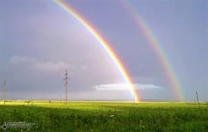 Обалденная радуга