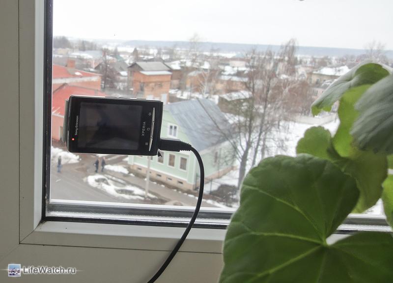 Веб камера из планшета
