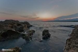 Закат на карибском море. La Boca, Куба