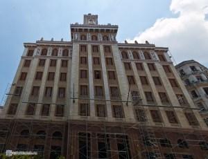 Здание Баккарди. Гавана. Куба