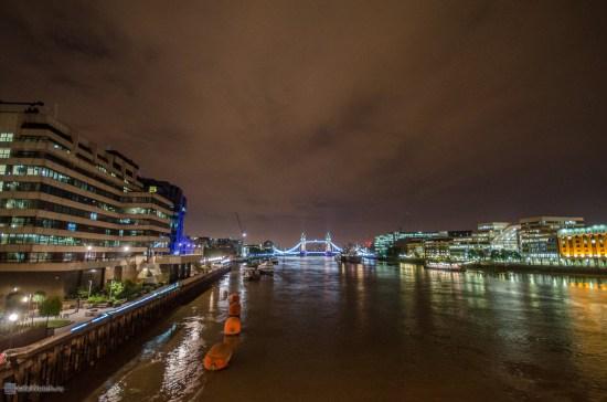 Вид с Лондонского моста на Тауэрский мост