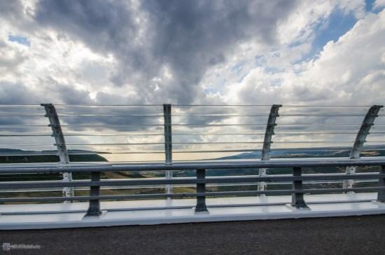 Ограждение на мосту