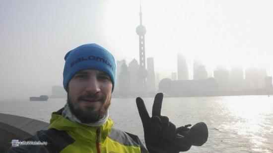 Утренняя пробежка по Шанхаю