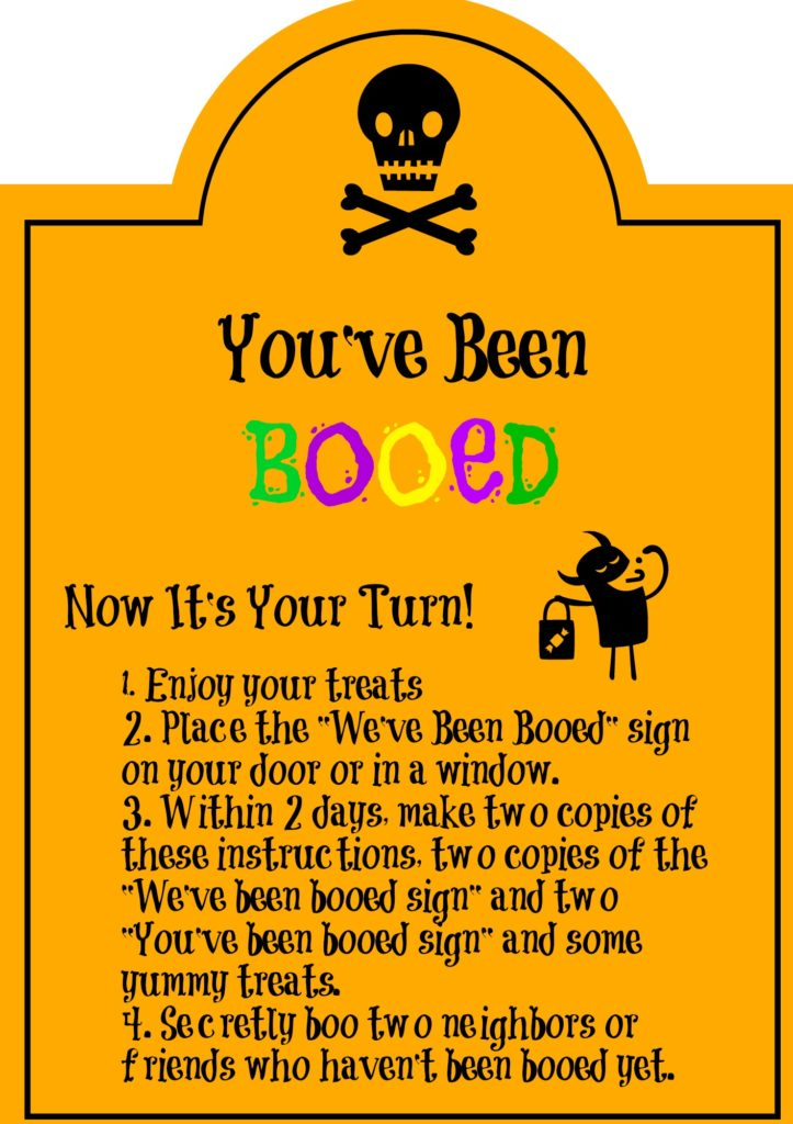 You\u0027ve Been Booed Printables Life With Kathy