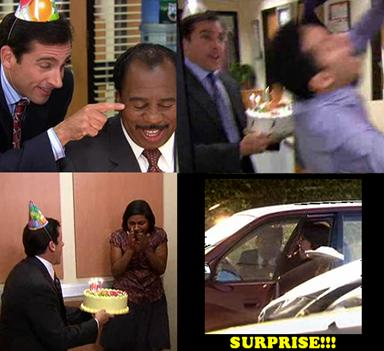 My First Office Birthday Life With Lauren