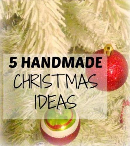 Simplify Create Inspire - DIY 5 Handmade Christmas Gift Ideas