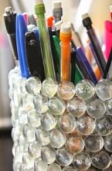 soda bottle pencil holder - Bonnie 01.09.15
