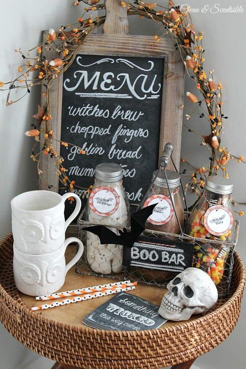 Halloween Beverage Bar - Feature - HMLP 57