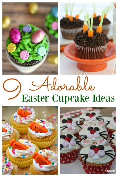9 Adorable Easter Cupcake Ideas - Smart Party Planning - HMLP 78 - Feature