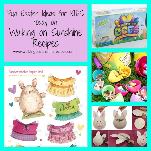 Easter Ideas & Activities For The Kids - Walking on Sunshine - HMLP 78 - Feature