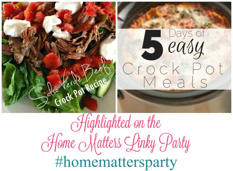 Home Matters Linky Party #99 - Come join the fun and link your blog posts -- Door Opens Friday EST. #HomeMattersParty #Linky #Blogging #LinkyParty