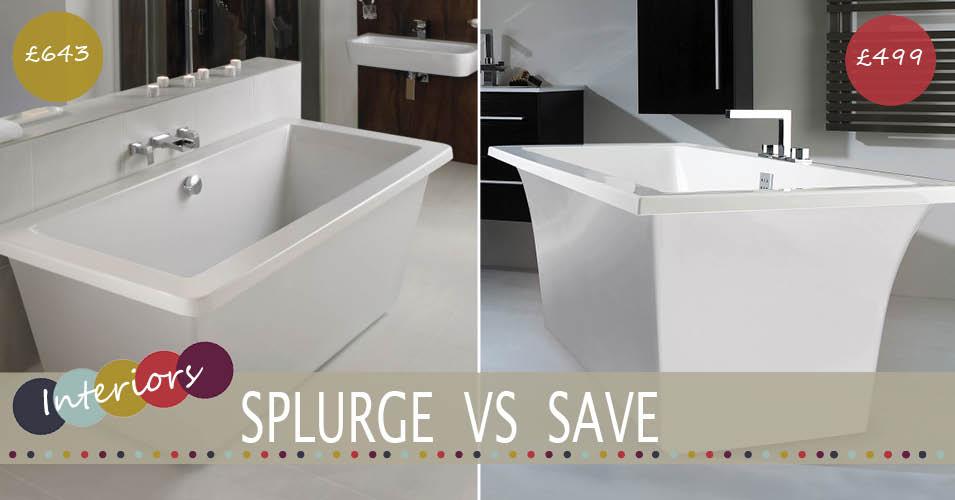Splurge Vs Save