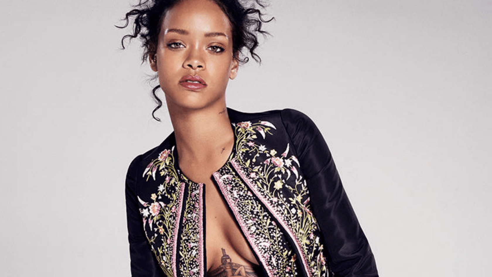 Jung Online Rihanna's Risque Cover Shoot For Elle Magazine