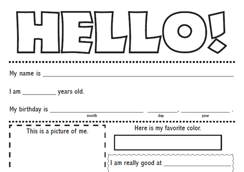 Printable Pen Pal Letter Template Life Your Way