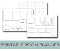 Printable Room Planner to Help You Plan Your Layout | Life ...