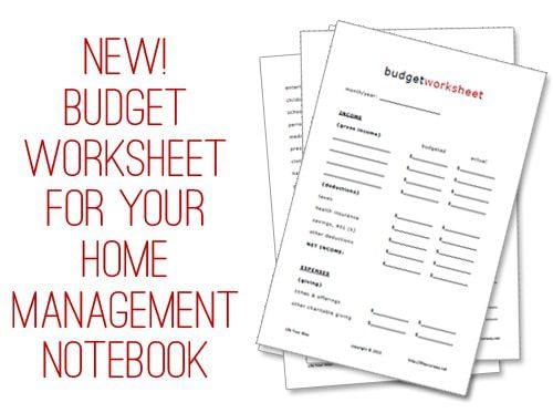 basic budget worksheets - Jolivibramusic - basic budgeting worksheets