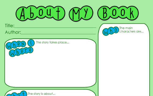 Keep Your Kids Reading with This Book Report Printable Life Your Way - book report printable