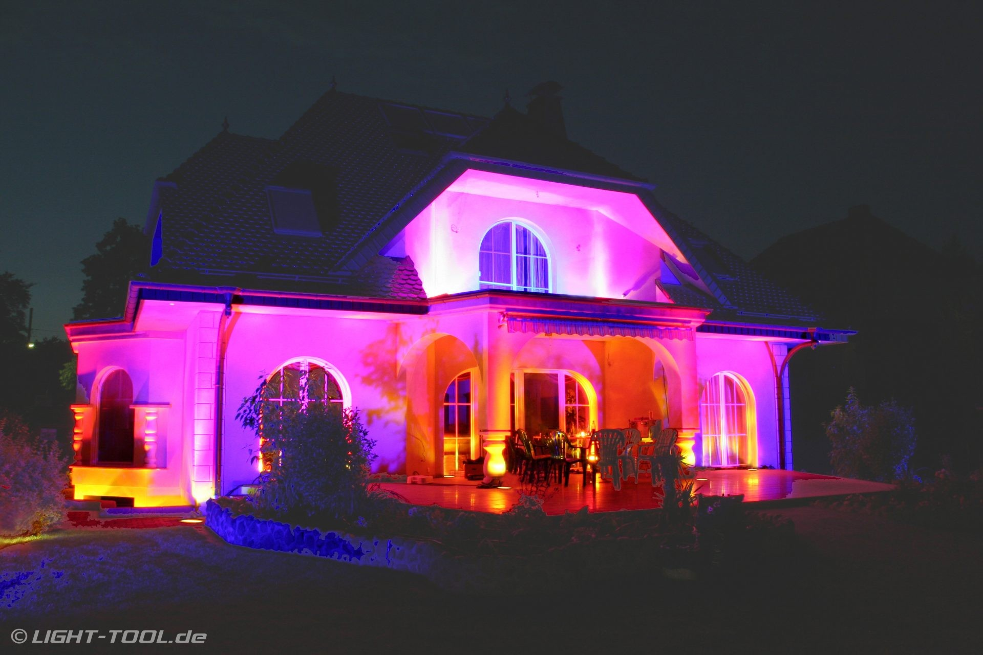 Villa Falkensee Led Rgb Ambientebeleuchtung Privat Villa Am See Falkensee