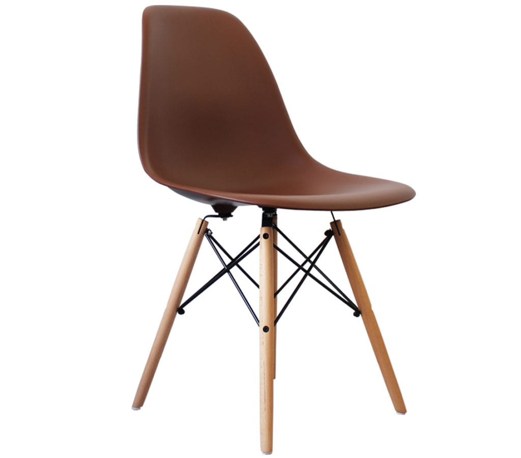 Dsw Eames Stuhl Coffee Brown Eames Dsw Chairs - Light & Glory