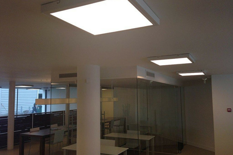 Systeemplafond Led Verlichting Led Panelen Opbouw - Lightcreations